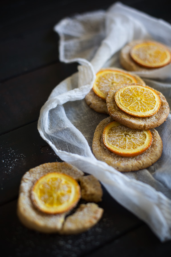 orange cookies - cooking blog