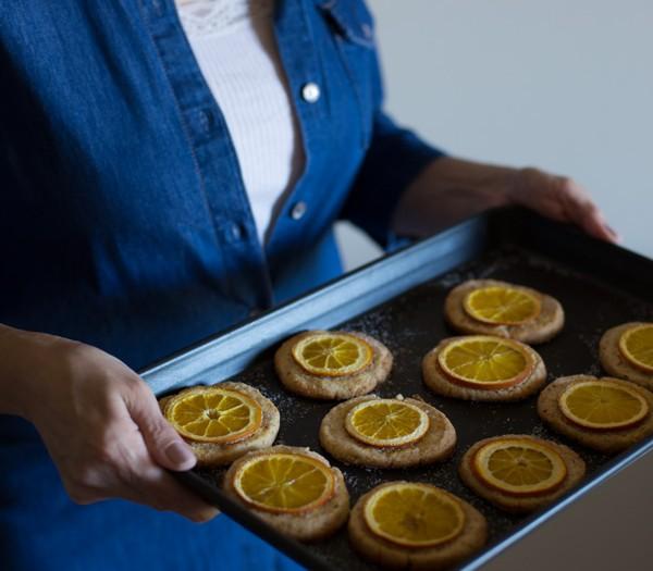 Orange Tea Cookies