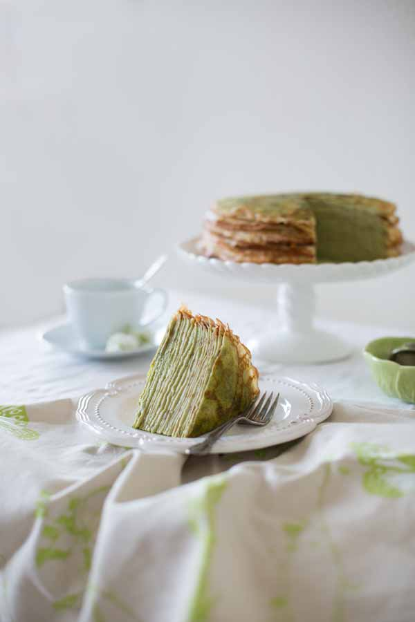 green tea cake - cooking blog