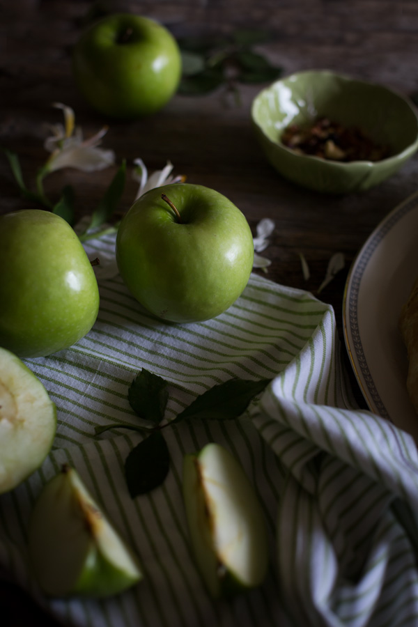 apples - food styling